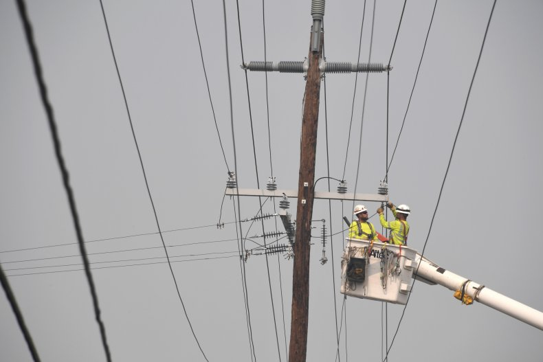 Oregon Power Outage Map Heat Wave