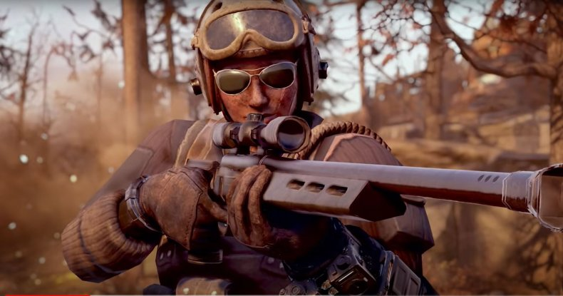 A Brotherhood of Steel Sniper