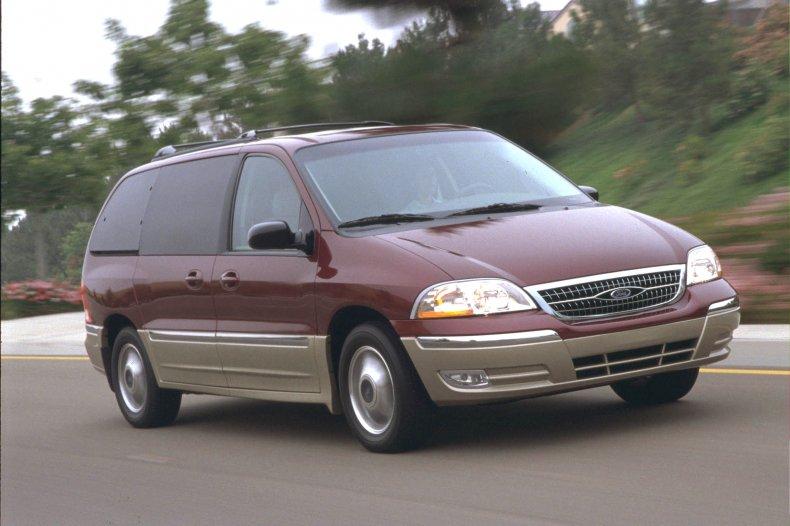 Driving Minivan
