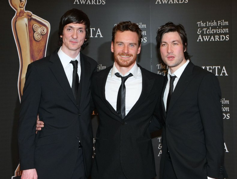 Hunger cast at BAFTA awards