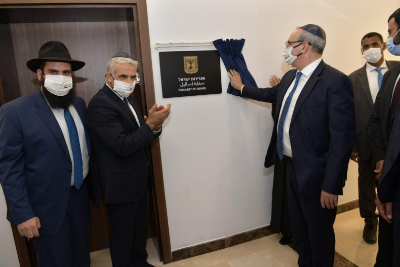 Israel's Foreign Minister Yair Lapid UAE Visit