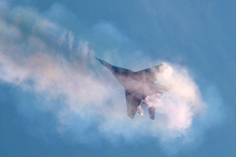 Russisch gevechtsvliegtuig