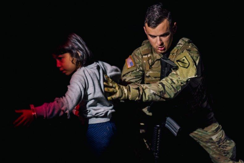 National Guard at Mexico Border