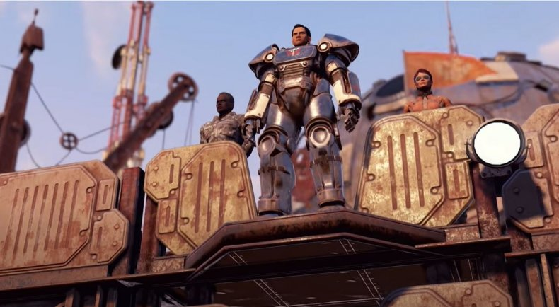 Daniel Shin in Fallout 76: Steel Reign