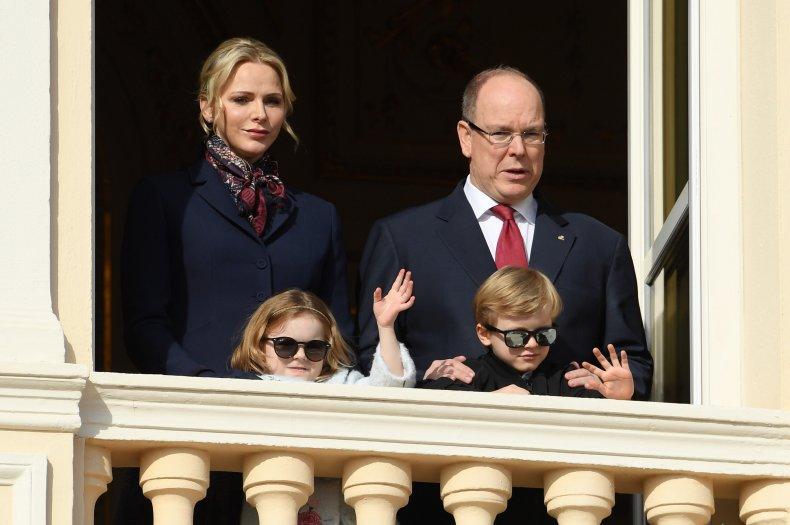 Prince Albert of Monaco and Family