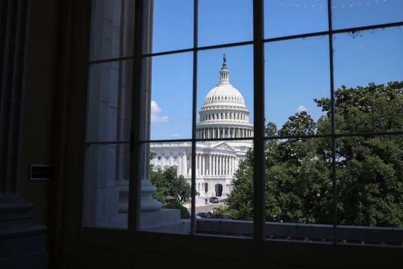 A view of the U.S. Capitol