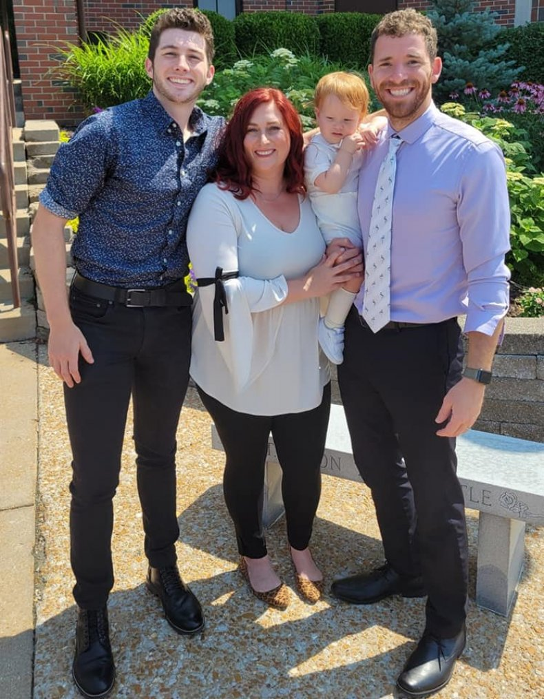 Maggie Mundwiller and her family