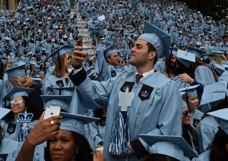 Graduation at Columbia University