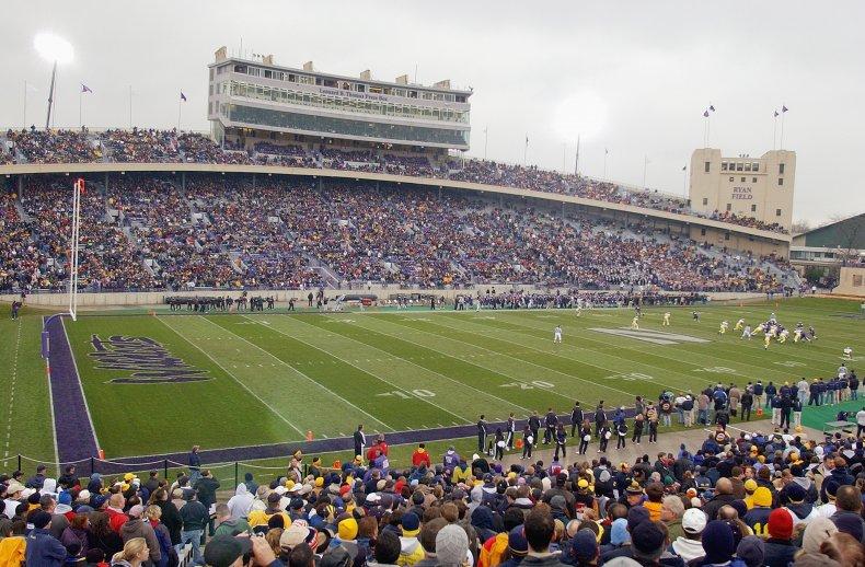 Northwestern University football field