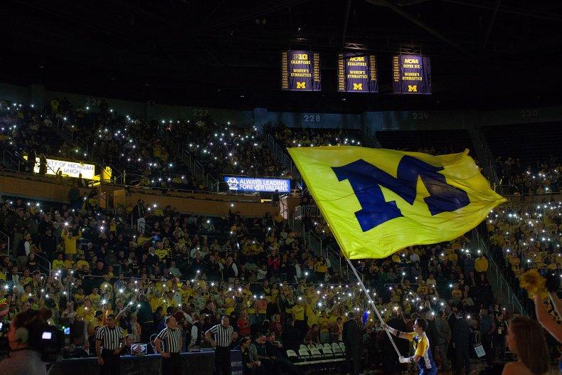Game at University of Michigan