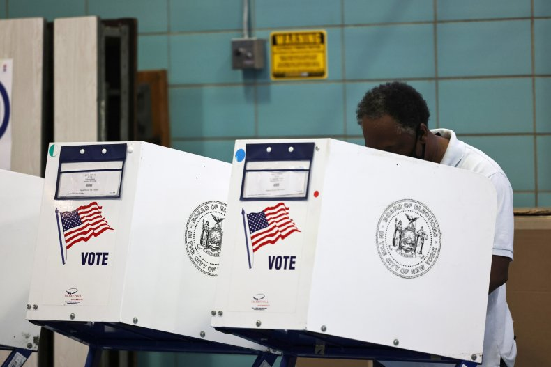 People Vote the New York Mayoral Election