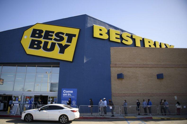 A Best Buy store in California.
