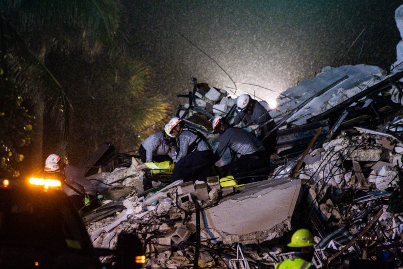 Condo collapse search and rescue