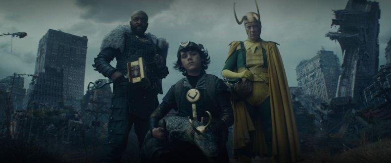 Screenshot from Loki Episode 4
