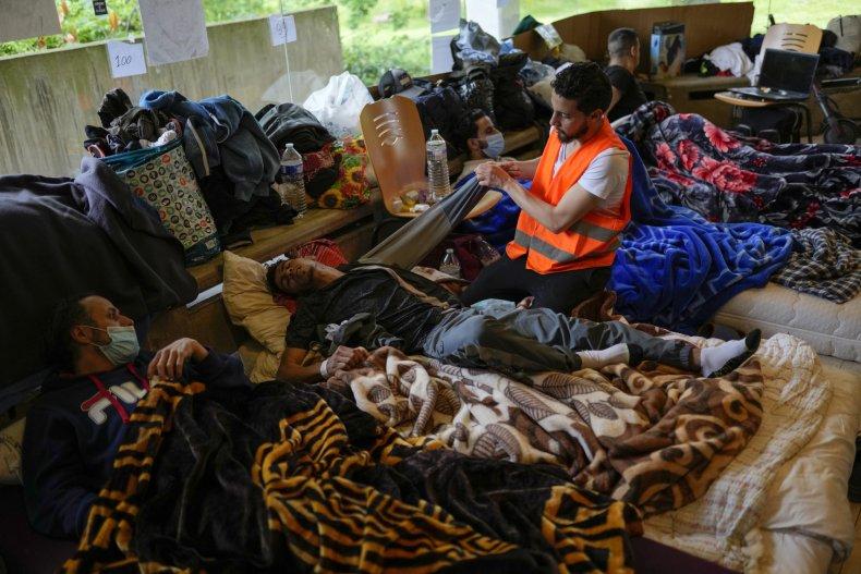 Migrants on Hunger Strike Belgium