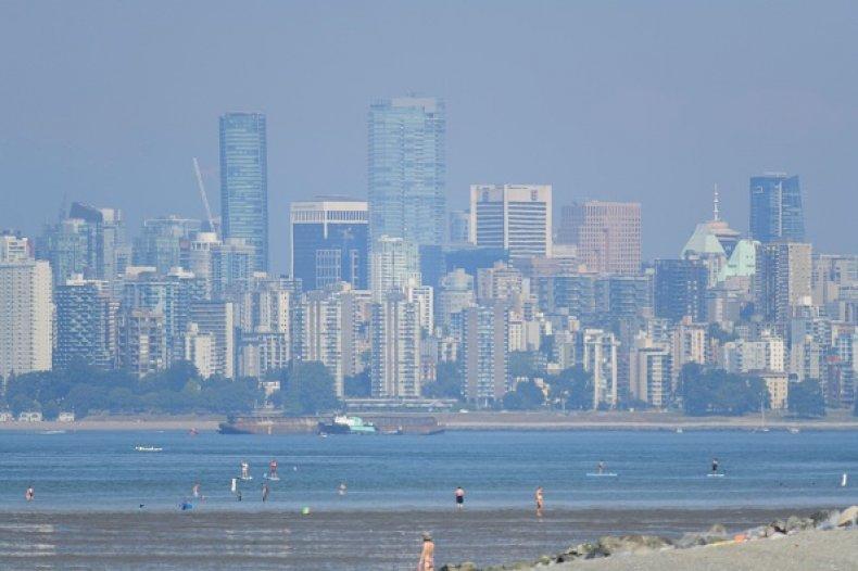 Vancouver Heatwave Death West Coast