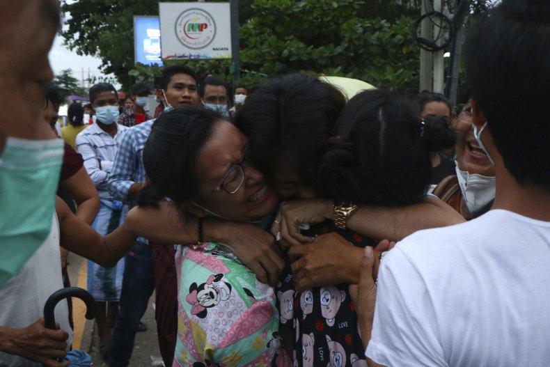 Released Myanmar Prisoner