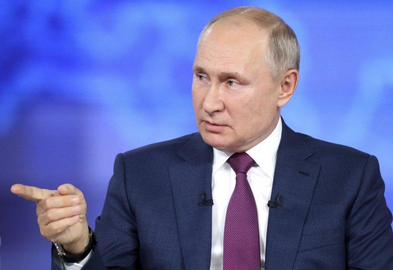 Putin Annual Live Call-In Show
