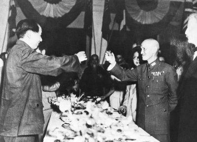 Chinese Civil War Leaders Final Meeting