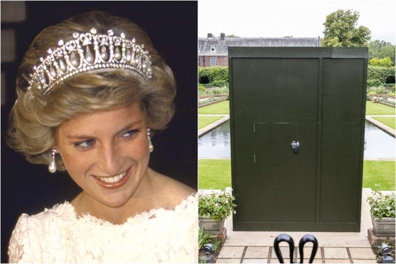 Princess Diana Statue Unveiling