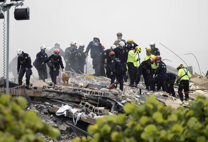 surfside building collapse survivors