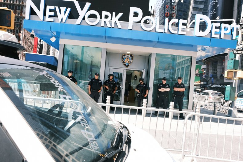 New York crime increase Police Department budget