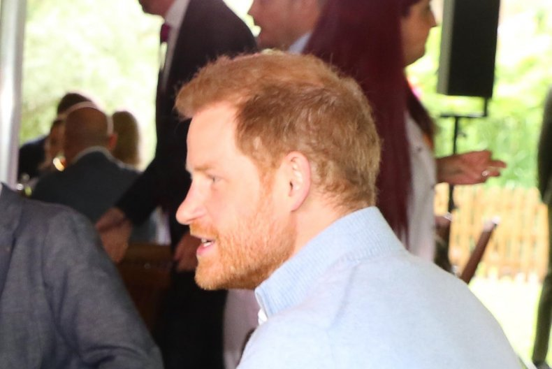 Prince Harry Back in Britain