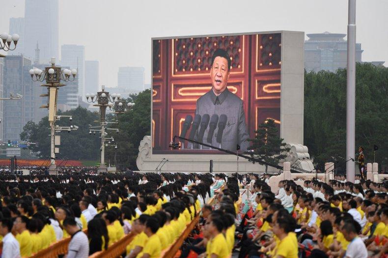 China's Xi Jinping Addresses Communist Party Celebrations