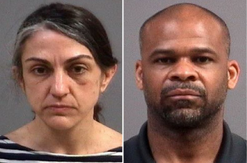 Dina and Kassceen Weaver were arrested