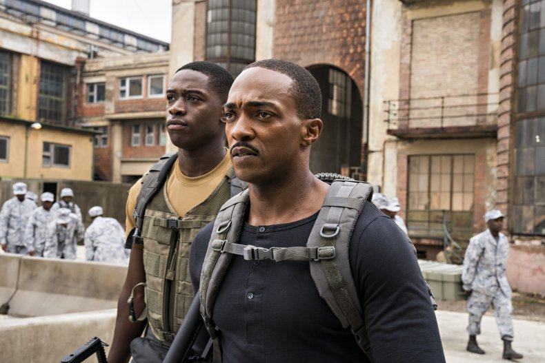 Anthony Mackie in Outside the Wire