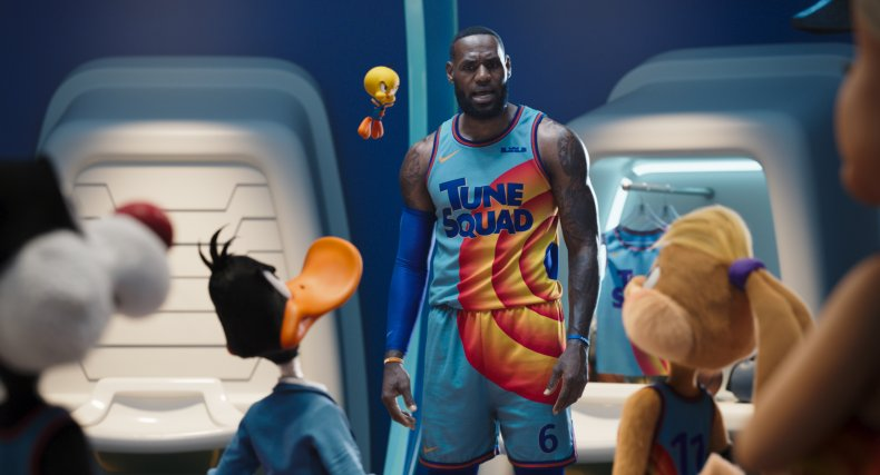 LeBron James and the Tune Squad