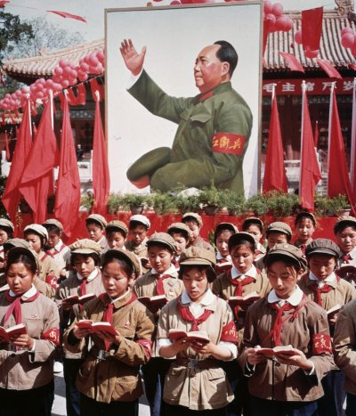 Chinese Red Guards Youth In Cultural Revolution