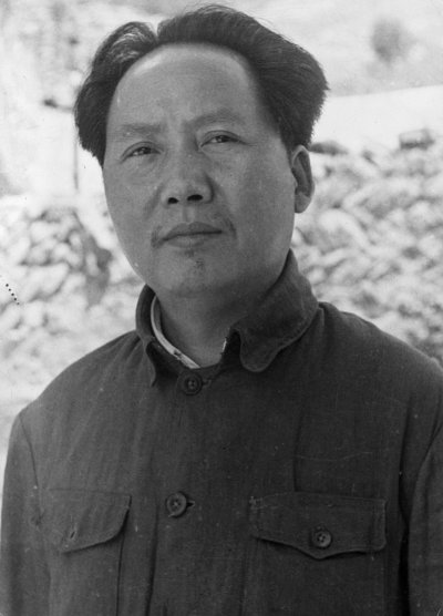 Chinese Communist Party Chairman Mao Zedong