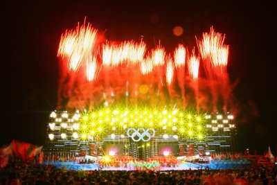 Fireworks Mark Beijing Olympics Opening Ceremony