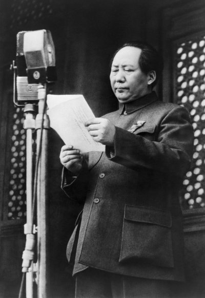 Mao Zedong Establishes Peoples Republic of China