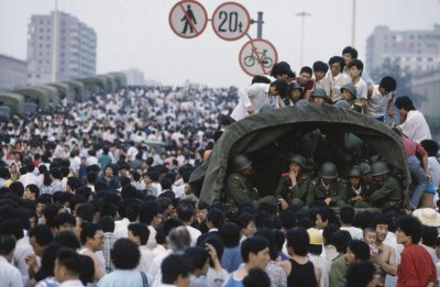 Thousands Gather For Democracy Protests In Beijing