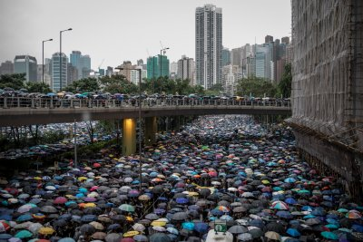 Thousands Protest Extradition Bill In Hong Kong