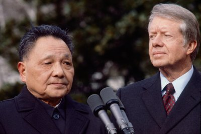 Deng Xiaoping Visits Jimmy Carter In States