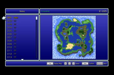 Final Fantasy Pixel Remaster Bestiary