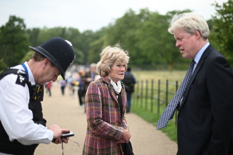 Princess Diana's Brother, Sister at Statue Unveiling