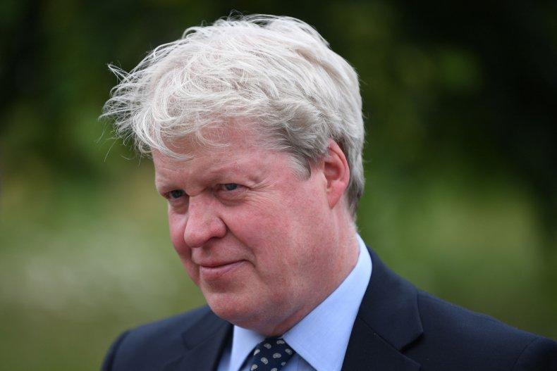 Charles Spencer at Kensington Palace