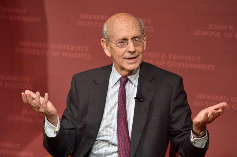 Stephen Breyer Speaks at Harvard University