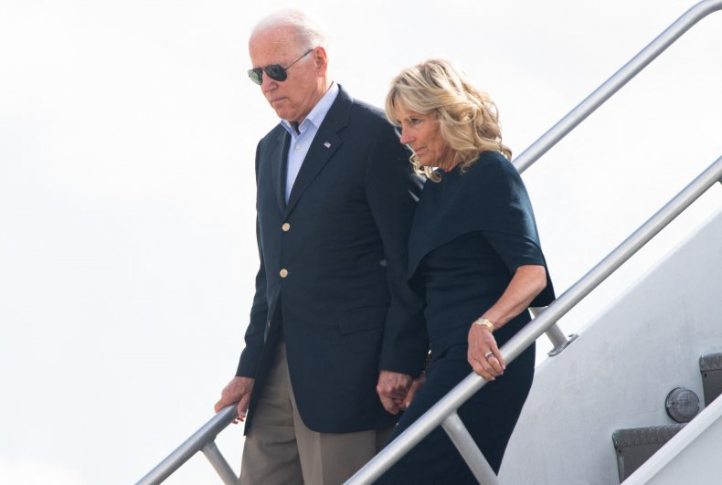 President Joe Biden and His Wife Jill