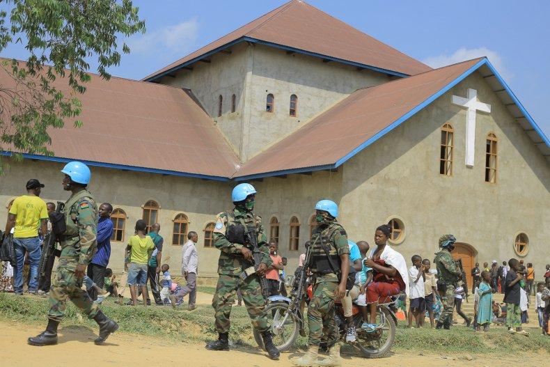Peacekeeping forces