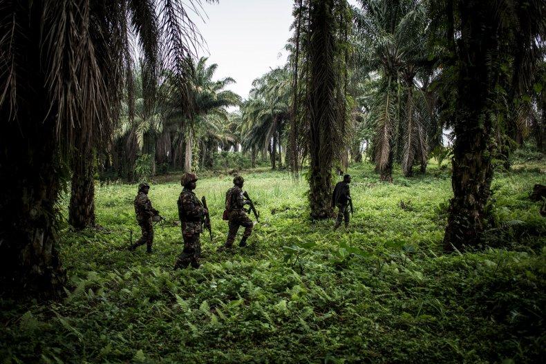 Patrols against ADF in Congo