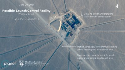 Satellite Images Reveal Chinas New Missile Silos