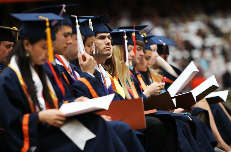 Graduation at Syracuse University