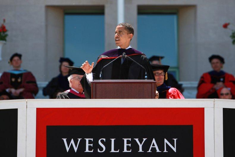 Barack Obama commencement address at Wesleyan University