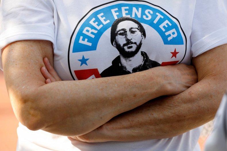Shirt for U.S. Journalist Danny Fenster