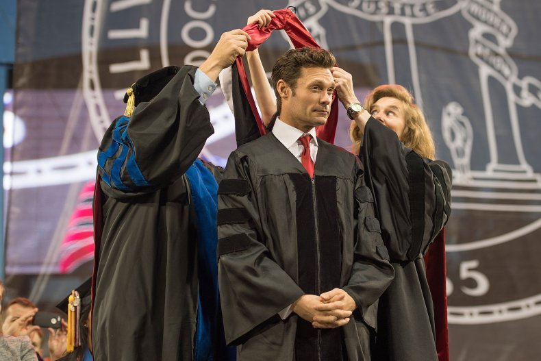 Ryan Seacrest gets honorary degree